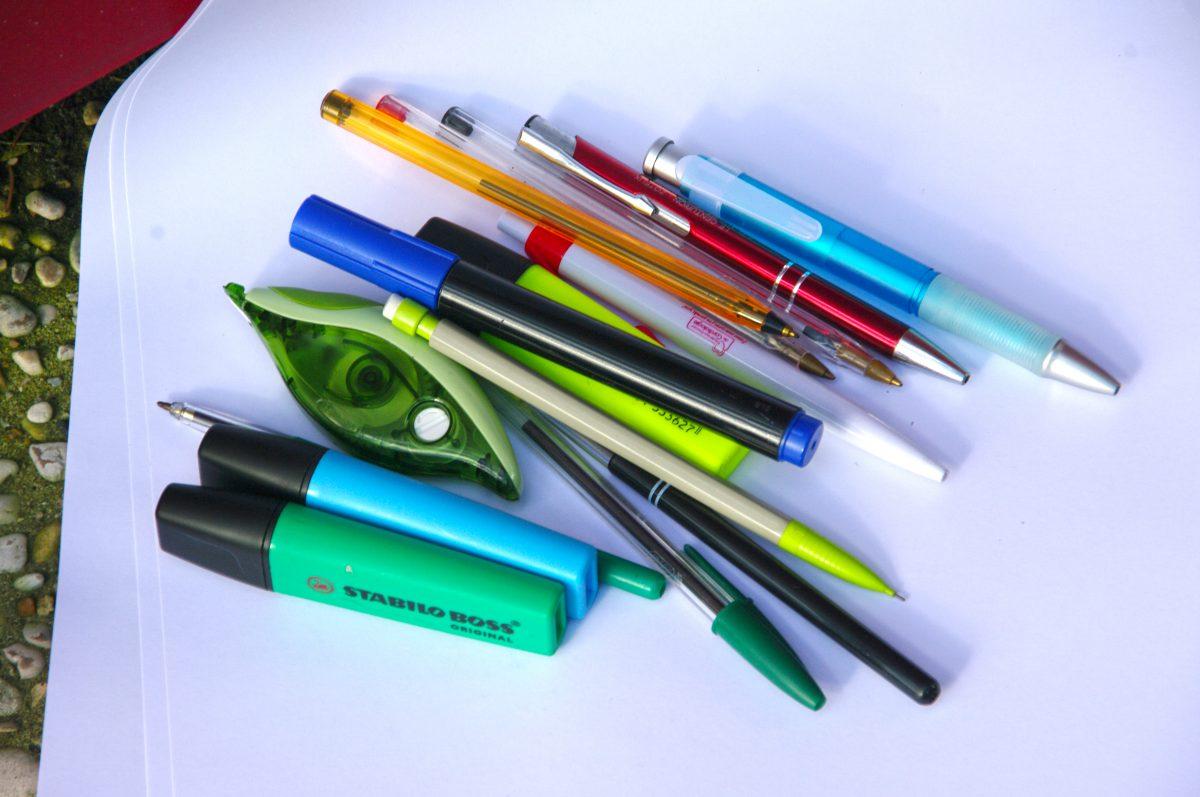 Collecte de stylos