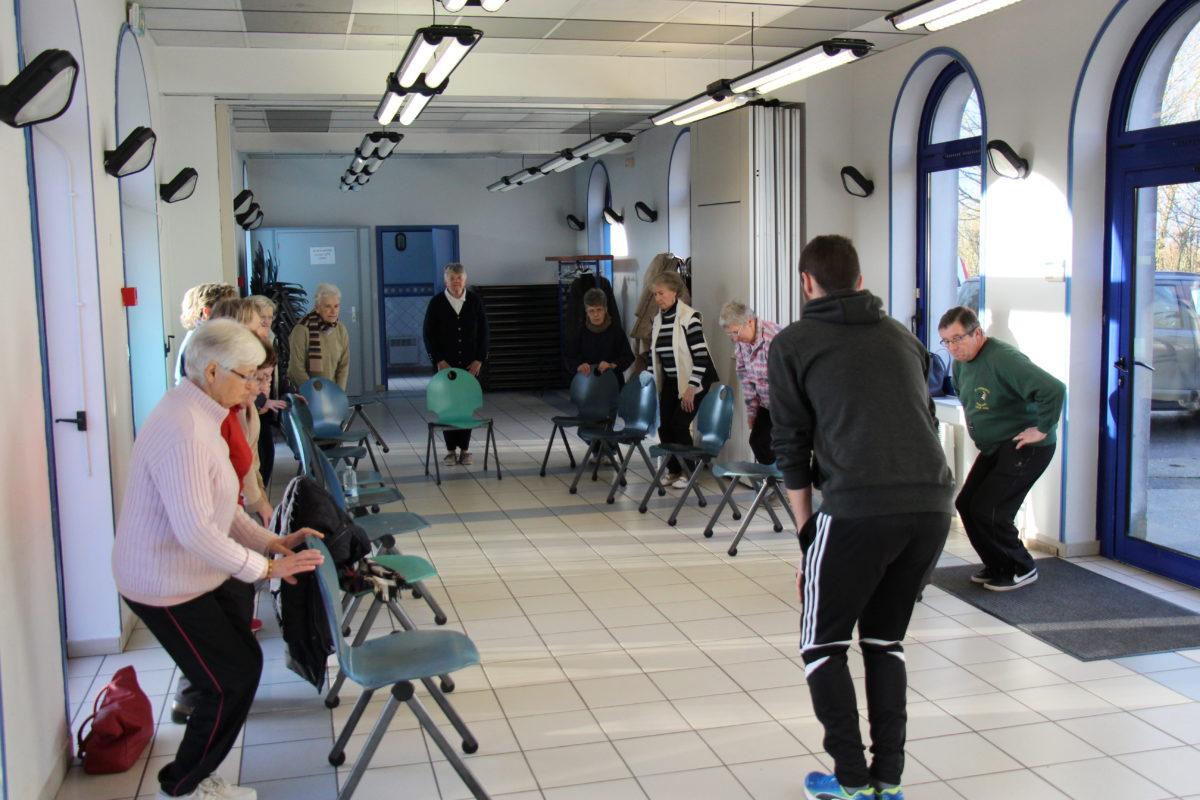 Des ateliers gym pour les séniors