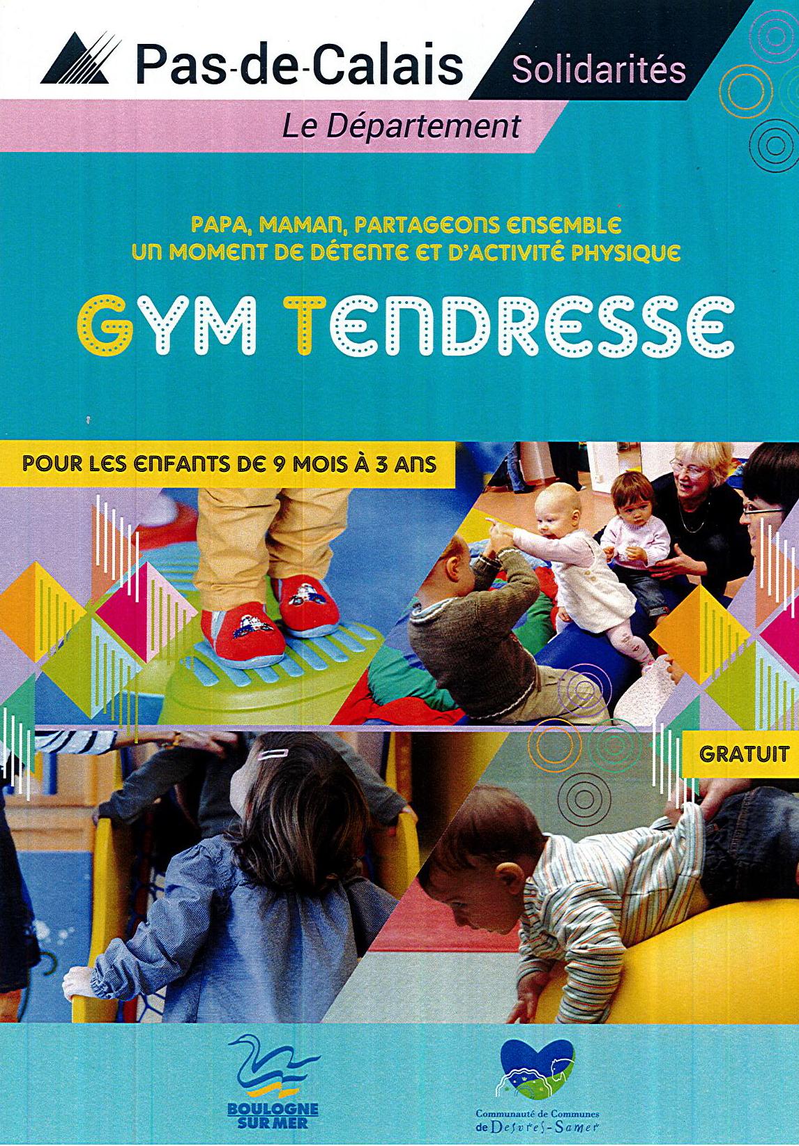 De la Gym Tendresse pour les enfants de 9 mois à 3 ans