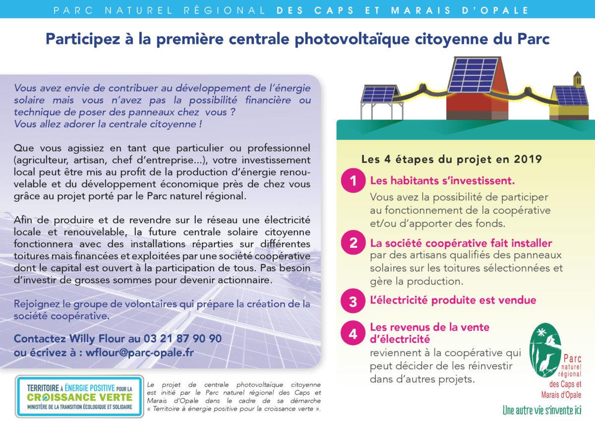 Participez à la première centrale photovoltaïque citoyenne du Parc