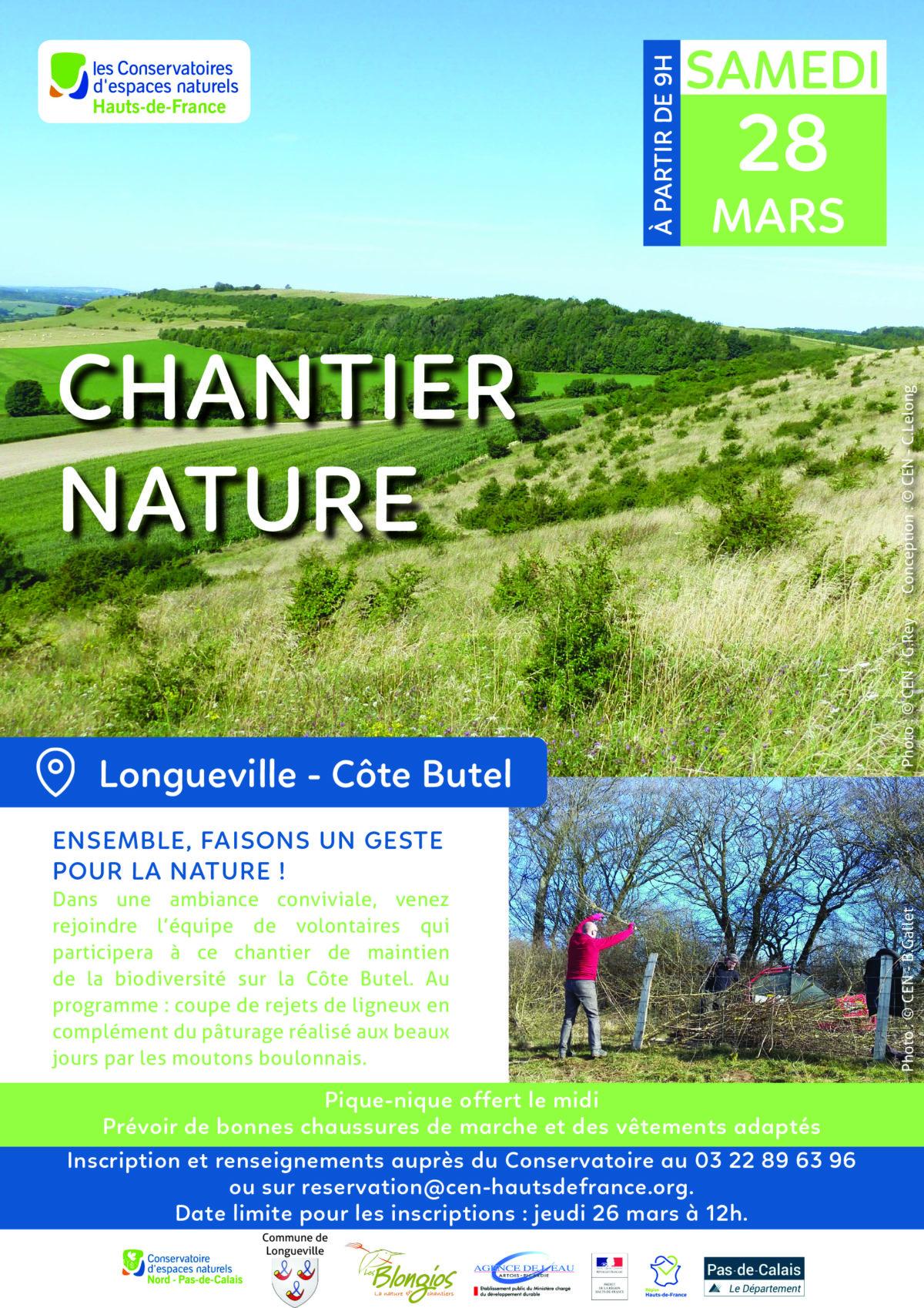 Chantier nature à Longueville