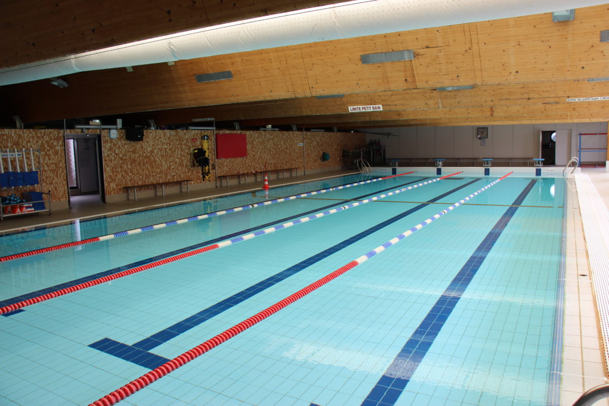 Réouverture de la piscine