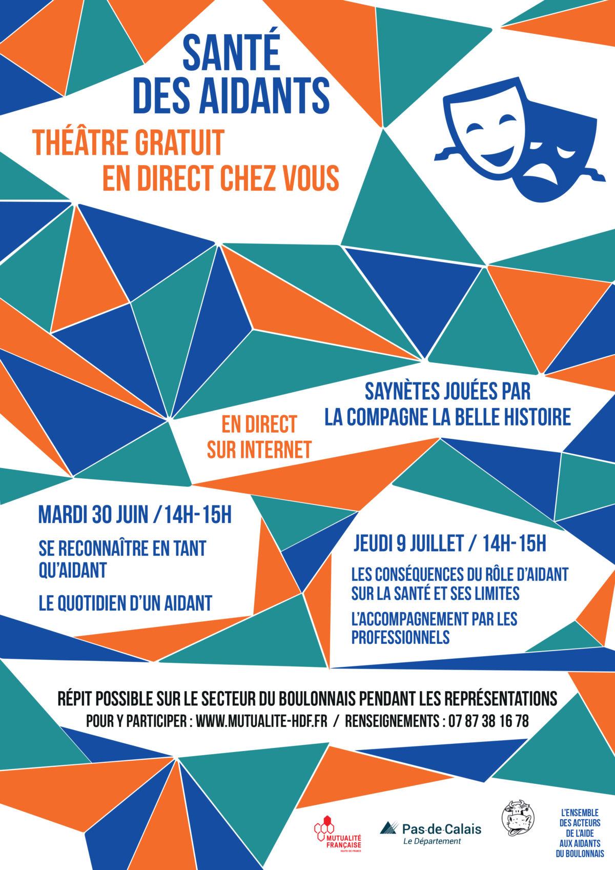 Santé des aidants – théâtre gratuit en live