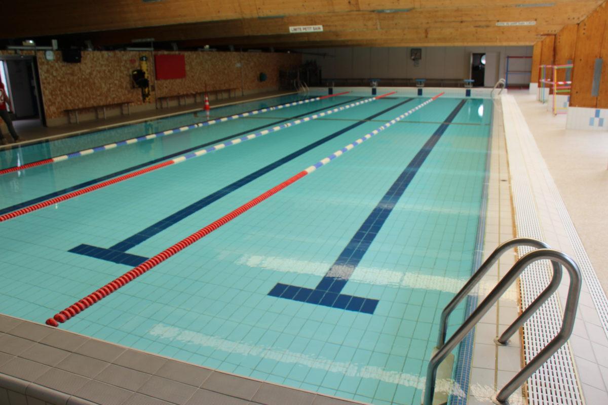 La piscine intercommunale fermée