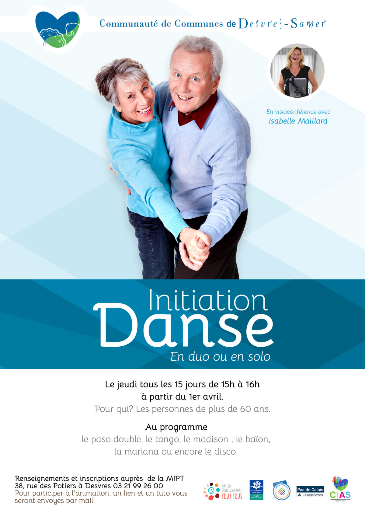 Initiation danse en visioconférence avec Isabelle Maillard