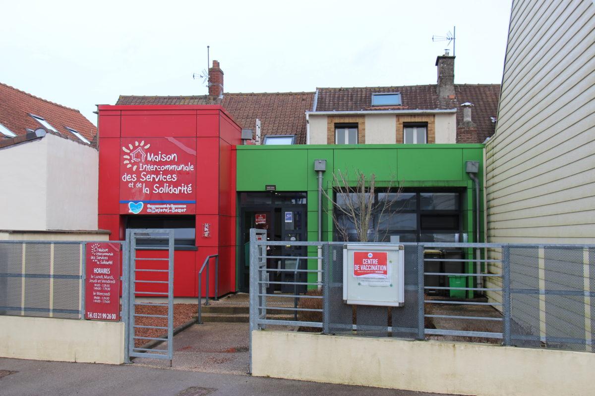 Info centre de vaccination de Desvres